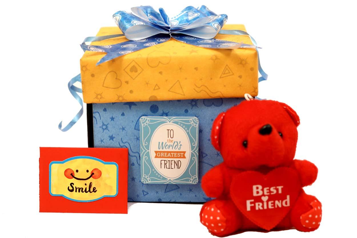 BEST FRIEND EXPLOSION BOX GIFT